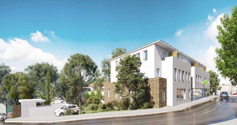 Achat / Vente programme immobilier neuf Saint-Aunès dans une belle résidence intimiste (34130) - Réf. 5159