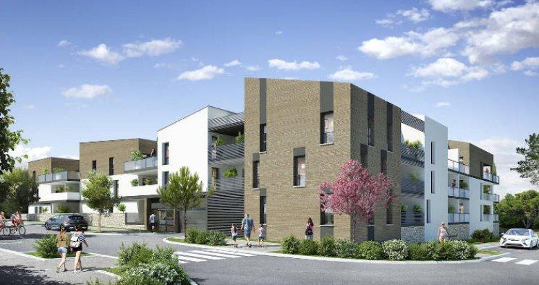 Achat / Vente programme immobilier neuf Saint-Brès au coeur du quartier de Cantaussel (34670) - Réf. 4202