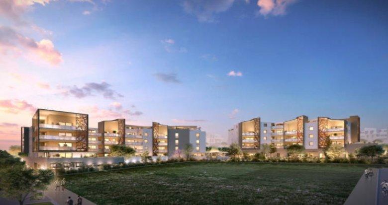 Achat / Vente programme immobilier neuf Saint-Jean-de-Vedas eco quartier Roque-Fraisse (34430) - Réf. 3478