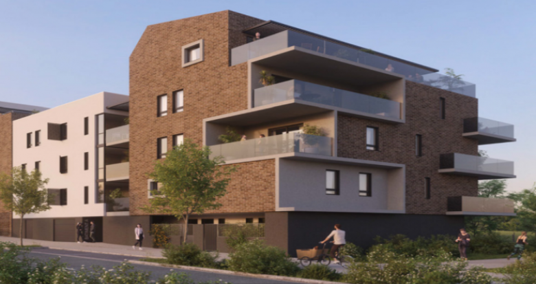 Achat / Vente programme immobilier neuf Saint-Jean-de-Védas proche parc de la Capoulière (34430) - Réf. 5033