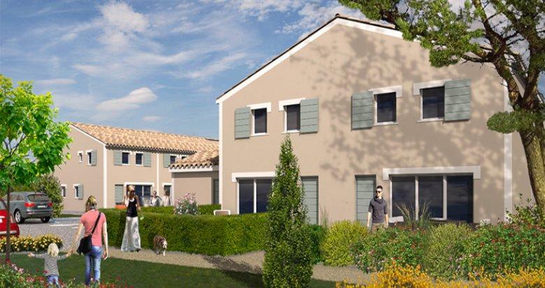 Achat / Vente programme immobilier neuf Saussan à 20 minutes des plages (34570) - Réf. 5417