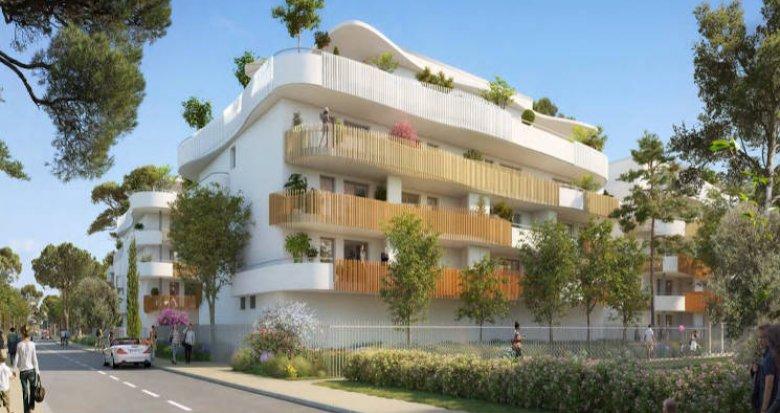 Achat / Vente programme immobilier neuf Sérignan à 500 mètres de la plage (34410) - Réf. 5120