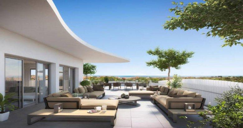 Achat / Vente programme immobilier neuf Sérignan entre ciel et mer (34410) - Réf. 5957