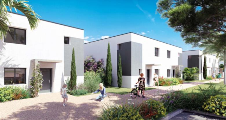 Achat / Vente programme immobilier neuf Sérignan proche Valras-Plage (34410) - Réf. 5451
