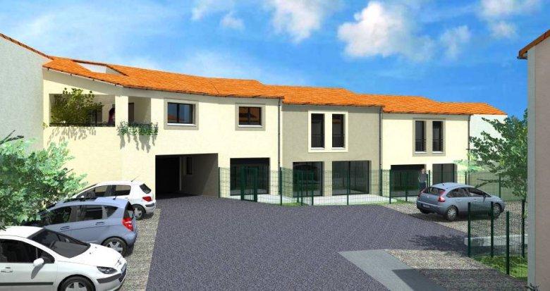 Achat / Vente programme immobilier neuf Vendargues Maison de village (34740) - Réf. 6294