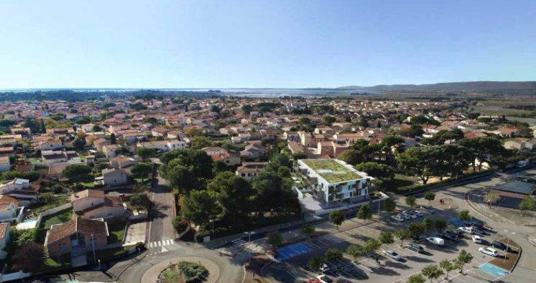 Achat / Vente programme immobilier neuf Villeneuve-lès-Maguelone 5 min du cœur de ville (34750) - Réf. 4713