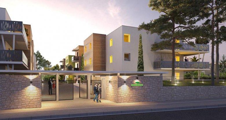 Achat / Vente programme immobilier neuf Villeneuve Les Maguelone proche de la mer (34750) - Réf. 3717